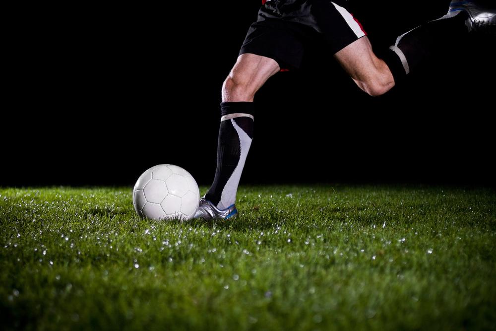 Mein Fußballtraining